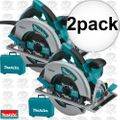 "Makita 5007MG 2pk 7-1/4"" Circular Saw Magnesium base PLUS LED Light"