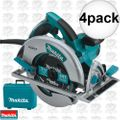 "Makita 5007MG 4pk 7-1/4"" Circular Saw Magnesium base PLUS LED Light"