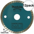 "Makita 724950-8D 3-3/8"" Wet/Dry Diamond Saw Blade 12x"