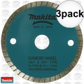 "Makita 724950-8D 3-3/8"" Wet/Dry Diamond Saw Blade 3x"