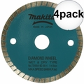 "Makita 724950-8D 3-3/8"" Wet/Dry Diamond Saw Blade 4x"