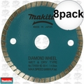 "Makita 724950-8D 3-3/8"" Wet/Dry Diamond Saw Blade 8x"