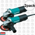 Makita 9558PB 7.5 Amp Motor 5-Inch Angle Grinder with Paddle Switch 2x