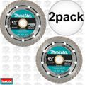 "Makita A-94552 4-1/2"" Turbo Rim Diamond Masonry Blade 2x"