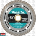 "Makita A-94596 4-1/2"" Diamond Blade, Turbo, Hard Material"