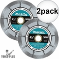 "Makita A-95912 4-1/2"" Dual Sandwich Diamond Tuck Point Blade 2x"