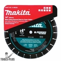 "Makita A-96229 14"" Metal Cutting Diamond Blade"