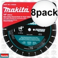 "Makita A-96229 14"" Metal Cutting Diamond Blade 8x"