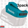 Makita ADP05 18V LXT Li-Ion Cordless Power Source, Power Source Only 3x