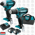 Makita CT226 12V Max CXT 2 Speed Li-Ion Cordless Impact Drill Driver Combo
