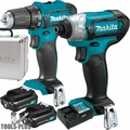 Makita CT232RX 12 Volt Max Li-Ion Cordless 2-Piece Combo Kit