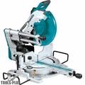 "Makita LS1219L 12"" Dual Slide Compound Miter Saw + Laser"