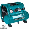 Makita MAC100Q Compact No Oil Electric Air Compressor Quiet 58Db 1/2HP 1Gal