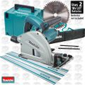 "Makita SP6000J 6-1/2"" Plunge Cut Circular Track Saw w/2 Tracks +Track Bag"
