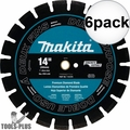 "Makita T-01270 14"" Segmented Dual Purpose Diamond Blade 6x"