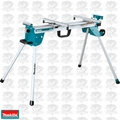 "Makita WST06 Folding Miter Saw Stand 100.5"" Adjustable Feed Roller Compact"