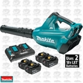 Makita XBU02PT1 18V X2 (36V) LXT Li-Ion Brushless Blower Kit w/4 5.0ah Batts