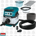 Makita XCV07ZX 18V X2 LXT HEPA Dry Dust Extractor Cordless Vacuum w/Accy's