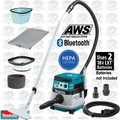 Makita XCV08Z 18V X2 2.1G HEPA Dry Dust Extractor/Vac AWS (Tool Only)