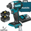 Makita XDT14T 18V LXT Li-Ion Brushless Quick-Shift Mode 3sp Impact Kit 5.0Ah