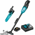 Makita XLC02R1B 18V LXT Li-Ion Compact Cordless Vac w/Cyclonic Attachement