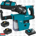 Makita XRH011TX 18V LXT 1'' Rotary Hammer Kit w/ HEPA Vacuum Attachment