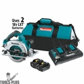 "Makita XSH08PT 18V X2 LXT 36V 7-1/4"" Cordless Circular Saw Kit"