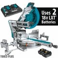 "Makita XSL07PT 18Vx2 12"" Slide Compound Miter Saw Kit"