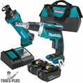 Makita XT255T LXT 18V 4.0 Ah Li-Ion BL Screwdriver/Cut-Out Tool Kit