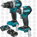 Makita XT275PT 18V 5.0 x2 LXT Lith-Ion Brushless Cordless Hammer, Impact Kit
