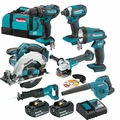 Makita XT706 18V LXT Lithium-Ion Cordless 7-Pc. Combo Kit (3.0Ah)