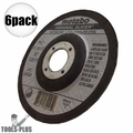 "Metabo 55346 4.5x045x7/8"" Original Slicer Type27 Depressed 6x"
