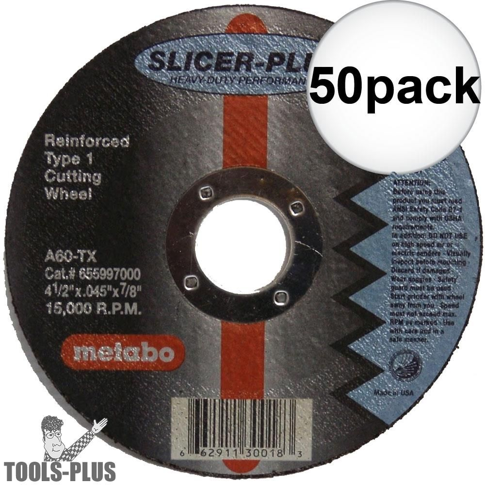 50pk 6 Slicer Plus Cutting Wheel
