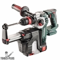 Metabo 600211900 18V Rotary Hammer HEPA Dust Collection (Bare Tool)