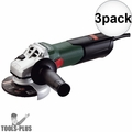 "Metabo 600354420 8.5 Amp 4-1/2"" Angle Grinder with Lock-On Sliding Switch 3x"