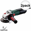 "Metabo 600371420 4-1/2"" Angle Grinder w/ Quick Wheel Change System 2x"