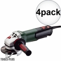 """Metabo 600410420 WP 12-115 Q 4-1/2"""" 1100rpm 10.5amp angle grinder 4x"""