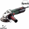 """Metabo 600562420 4-1/2"""" ~ 5"""" 3000-10500 RPM 12.0 AMP Angle Grinder 5x"""