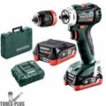 Metabo 601039520 12V PowerMaxx Compact Brushless Cordless Drill/Screwdriver