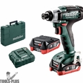Metabo 601114520 12V PowerMaxx Cordless Impact Wrench 2X 2.0AH