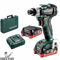 Metabo 601115520 12V POWERMAXX Brushless Cordless 4.0Ah Impact Driver Kit