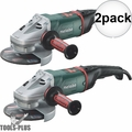 "Metabo 606466420 7"" Angle Grinder 8500 RPM 2x"