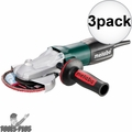 """Metabo 613060420 5"""" 8A Pro Series Flat-Head Angle Grinder 3x"""
