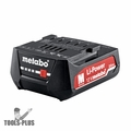 Metabo 625406000 12v 2.0Ah Li-ion Cordless Tool Battery Pack