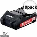 Metabo 625596000 18v 2.0ah battery pack 10x