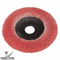 "Metabo 626461000 5"" x 7/8 P80 80 Grit Ceramic Convex Flap Disc"