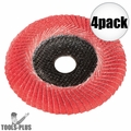 "Metabo 626489000 6"" convex flap disc P80 CER 4x"