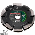 "Metabo 628298000 Professional ""UP"" Diamond Slotting Wheel 2 Row 5""x3/4""x7/8"""