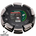 "Metabo 628299000 Professional ""UP"" Diamond Slotting Wheel 3Row 5""x3/16""x7/8"""
