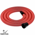 Metabo 631370000 Red Anti-Static Suction Hose 1-1/4'' x 13'